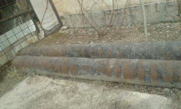 труба железная-1- 4м 20см  4м 70 см  дяметр  0,32см в Лебединовка
