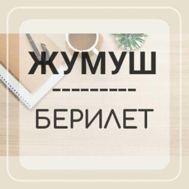менеджер по вэд в Кыргызстан: Менеджер по персоналу. Без опыта. 6/1