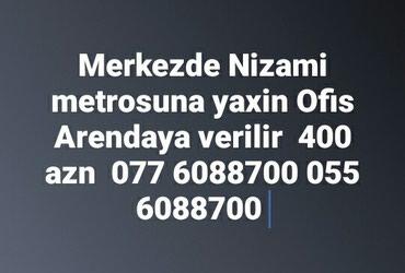 Bakı şəhərində Merkezde Nizami metrosuna yaxin Ofis arendaya verilir