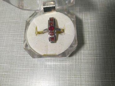 Часы колечко - Кыргызстан: Серебряное колечко с фианитами, ещё советское, размер приблизительно
