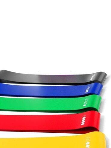 резины для фитнеса в Кыргызстан: Резинки для фитнеса, пилатеса и йоги, Эспандер резиновый для трениров
