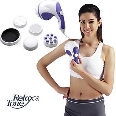 Ostalo | Kopaonik: Relax & Tone rucni masazer omogucava da tretirate celo telo i