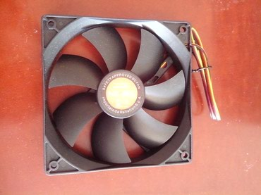 Nilox Case fan New 120 mm 1200 RPM 38 CFM 13 db/equivalent to σε North & East Suburbs