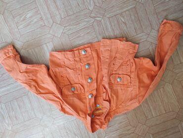 Детский мир - Ак-Джол: Джинсовая куртка, производство Бангладеш. На возраст 3-4 года. В