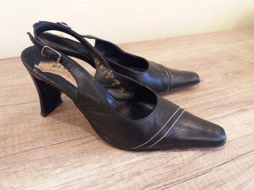 Туфли черные, польша, кожа, размер 35-36, в Бишкек