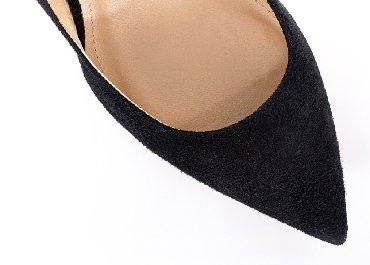 туфли чёрные замшевые в Кыргызстан: Женские туфли 37