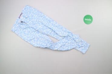 Детский мир - Украина: Дитячі штани у квітковий принт GeeJay, вік 8-9 р., зріст 134 см    Дов