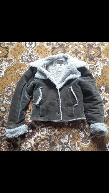 Куртка микровельвет бу размер s или меняю