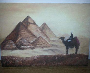 Ostalo za kuću | Kovacica: Slika GizaNekoriscena slika, ulje na platnu. slikane piramide