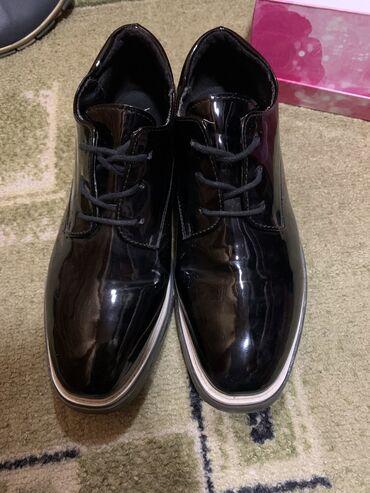 Оксфорды - Бишкек: Оксфорд  женские — туфли на низком каблуке с круглым носком. Такая мод