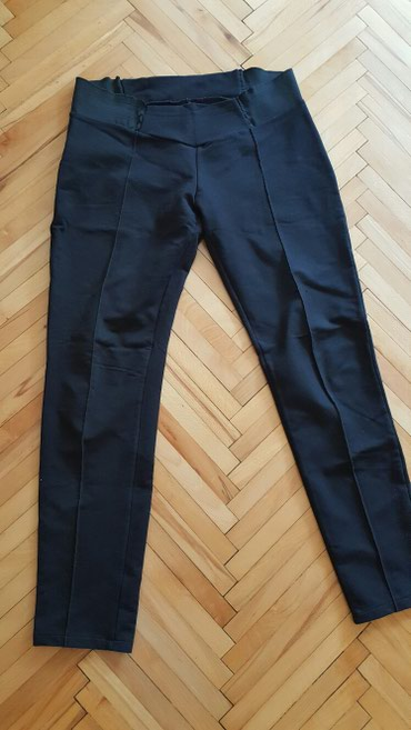 Crne pantalone sa lasteksom - Pozarevac