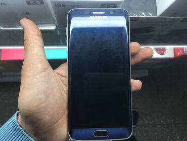 Samsung galaxy j7 2016 цена - Кыргызстан: Б/у Samsung Galaxy S6 Edge 128 ГБ Синий