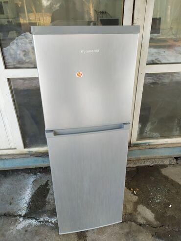 Б/у Двухкамерный Серый холодильник AEG