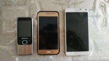 Электроника - Орто-Сай: Продаю 3 телефона: кноп-й кит. Samsung J2 (2016г) Samsung note 4