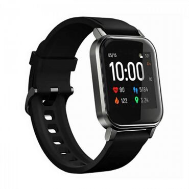 жен платье короткие в Кыргызстан: Xiaomi Смарт-часы Xiaomi Haylou LS02 Global Black (Черный) - 2200 сом