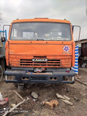 Камаз 65115 евро 3 без двигателя 15 тонник