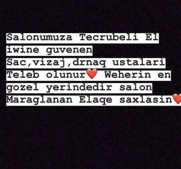 acura el 17 at - Azərbaycan: Salonumuza tecrubeli el iwine guvenen ustalar ucun vakansiyalarimiz