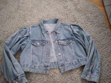 Teksas jakna kao nova jednom obucena,preleepa najnoviji model
