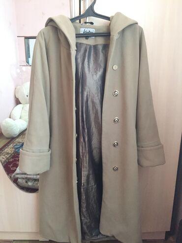 бежевые кюлоты в Кыргызстан: Пальто