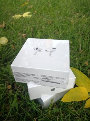 наушники airpods 2 в Кыргызстан: Блютуз наушники Airpods Pro копия Айрподс про Люкс качества премиум зв
