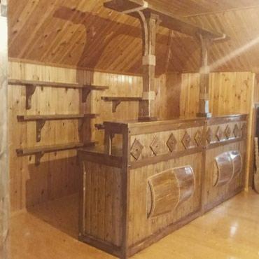 barni stoyka - Azərbaycan: Pub restoran bag evleri ucun barni stoykalarin yigilmasi