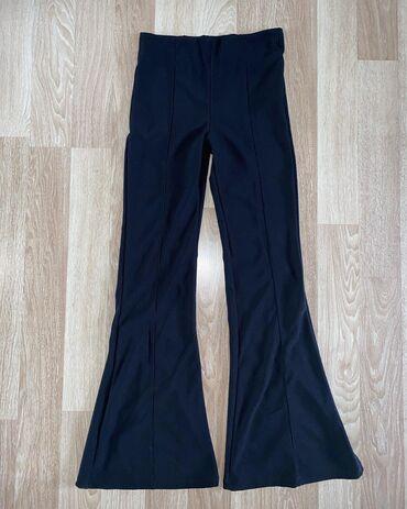 Pantalone vekivina - Srbija: Bershka crne pantalone zvonarice sa likrom  Dosta se rastezu i prelepo