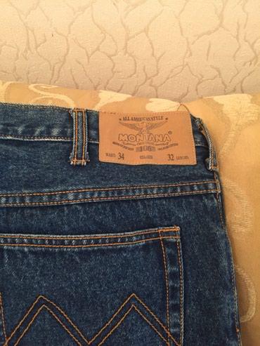 Новые американские женские джинсы обьем талии 34, длина 32 в Баку - фото 2
