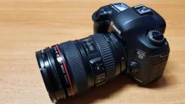 canon eos 5d mark ii в Азербайджан: Canon eos 5D mark iii+24-105mm obyektivle birlikde probeg 4600.Qiymeti