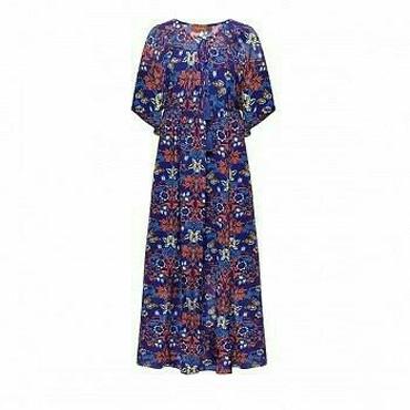 летнее джинсовое платье в Кыргызстан: Платье Свободного кроя Faberlic S