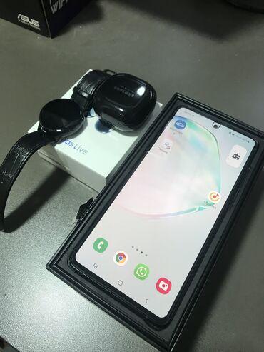 лайтнинг наушники в Кыргызстан: Продаю Самсунг смартсетSamsung Note 10 Lite 128 gb (под