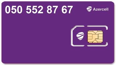 Bakı şəhərində Azercell Bakcell Nar Paket nömrə(050) /(055)/ (077) 552-87-67.