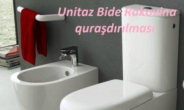 ремонт кожаной одежды - Azərbaycan: Ремонт унитазов. раковин. -ремонт унитазов