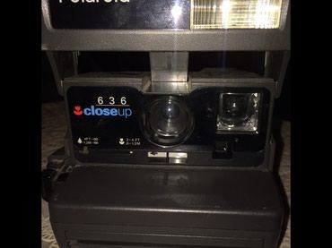 Bakı şəhərində Polaroid fotoaparat