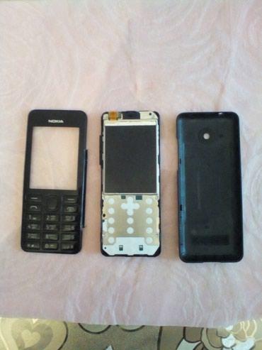 Bakı şəhərində Nokia 206 telefonu. ZAPCAST kimi satilir. Zaryadka vaxti xarab olub.