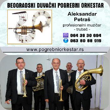 Beogradski sindikat - Srbija: Trubači za sahrane,pogrebe.Orkestar za sahrane, beogradski duvački