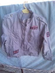 Decija jakna - Pozarevac: Decija tanka jakna