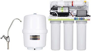 помпы для воды в Кыргызстан: Фильтр для воды 5 ступеней очисткиобратный осмоспомпа высокого