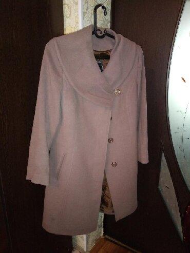 приталенное пальто в Кыргызстан: Турецкое женское приталенный пальто в отличном состоянии, 48 размера