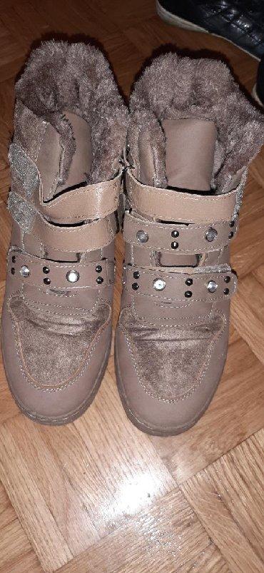 Cipele-zimske - Srbija: Zimske patike cipele tople ne propustaju kisu ni sneg kao nove br 41