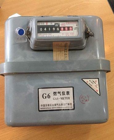 Газовый измерительный прибор G6  б/у в Бишкек