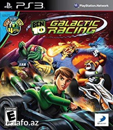 """Bakı şəhərində """"Ben 10 Galactic Racing"""" Ps3 oyunu"""