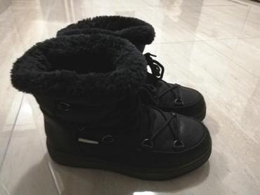Tople ocuvane cizme, malo nosene, broj 38 - Loznica