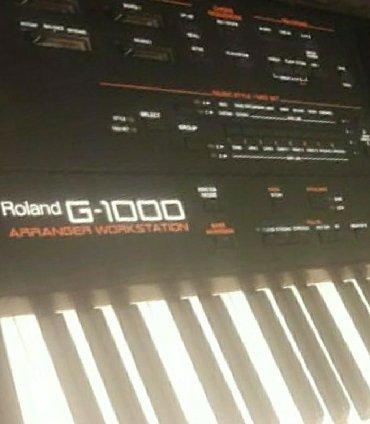 Roland g-1000 Satılır aləti heç bir Problemi yoxdur ciddi Şəxslər