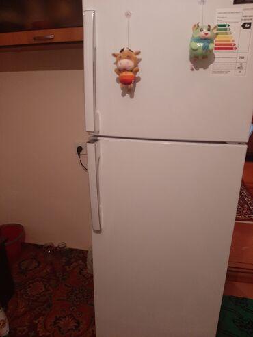 Витринный холодильник для мяса - Азербайджан: Новый Двухкамерный Белый холодильник Samsung
