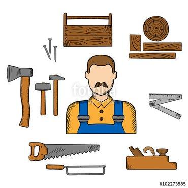 услуга плотника в Кыргызстан: Плотник, услуги плотника, установка дверей, установка окон