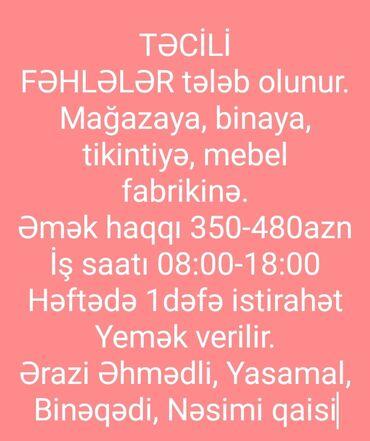 - Azərbaycan: Yaşayış binasına Nəsimi bazarı yaxınlığı (günə 15 azn), tikintiyə günə