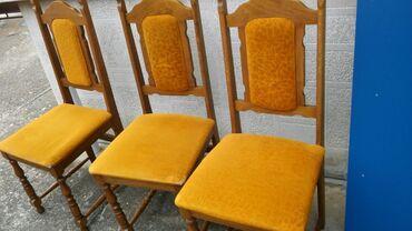 Nameštaj - Cacak: 6 ocuvanih stolica