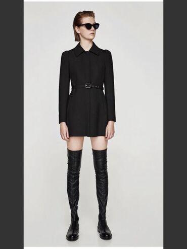 Классическое пальто от Zara в офис или школу! Супер качество . Купила