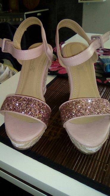 Personalni proizvodi | Smederevo: Sandale roze, uvoz, broj 38, nove