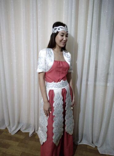 длинные вечерние платья с длинным рукавом в Кыргызстан: Национальный набор на Кыз узатту!!! Все изделия ручной работы. В живую
